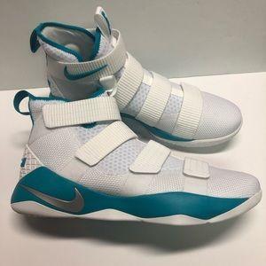 Nike Men's Lebron Soldier XI TB Promo White Teal